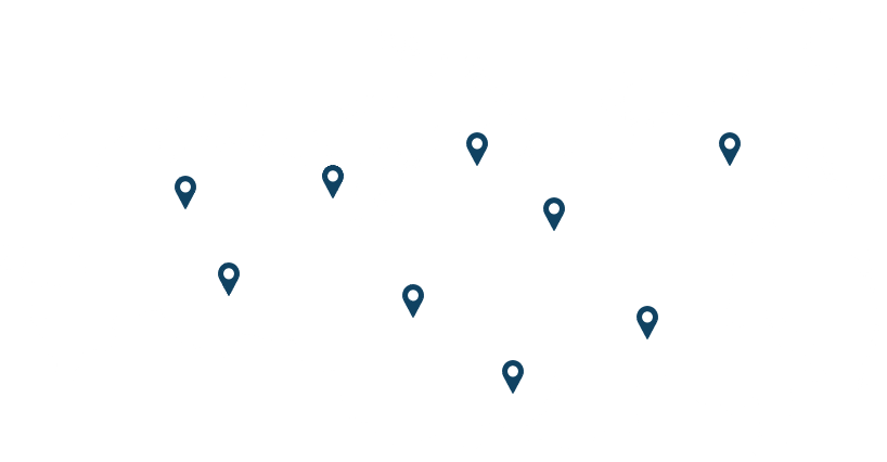 Работаем со всеми регионами РФ и СНГ