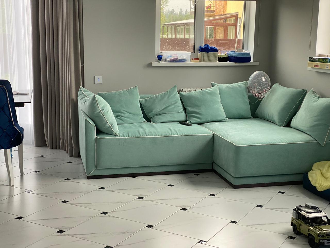Реализация дивана по индивидуальному дизайну